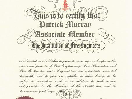Institute of Fire Engineers Membership