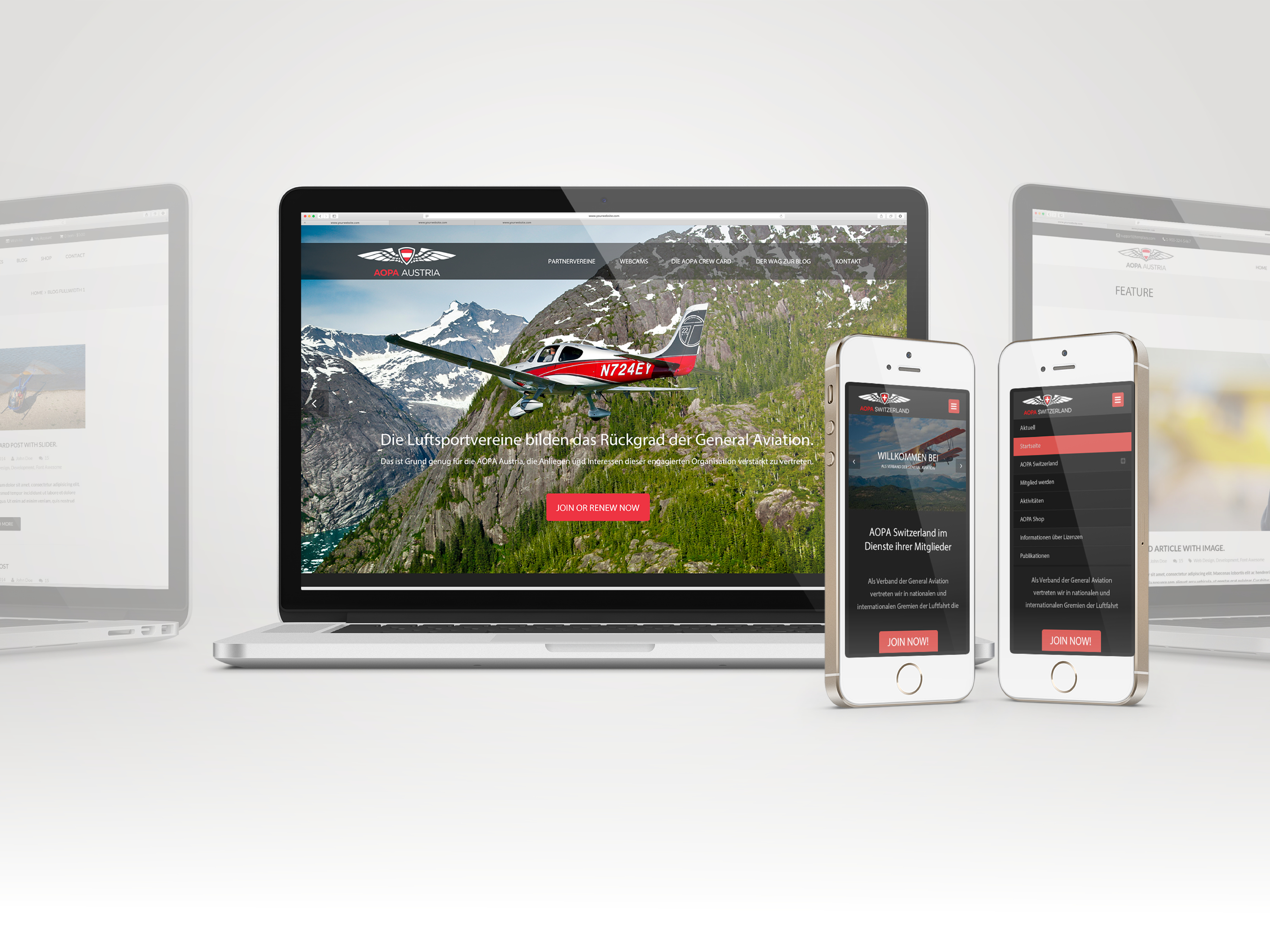 IAOPA - Website Templates