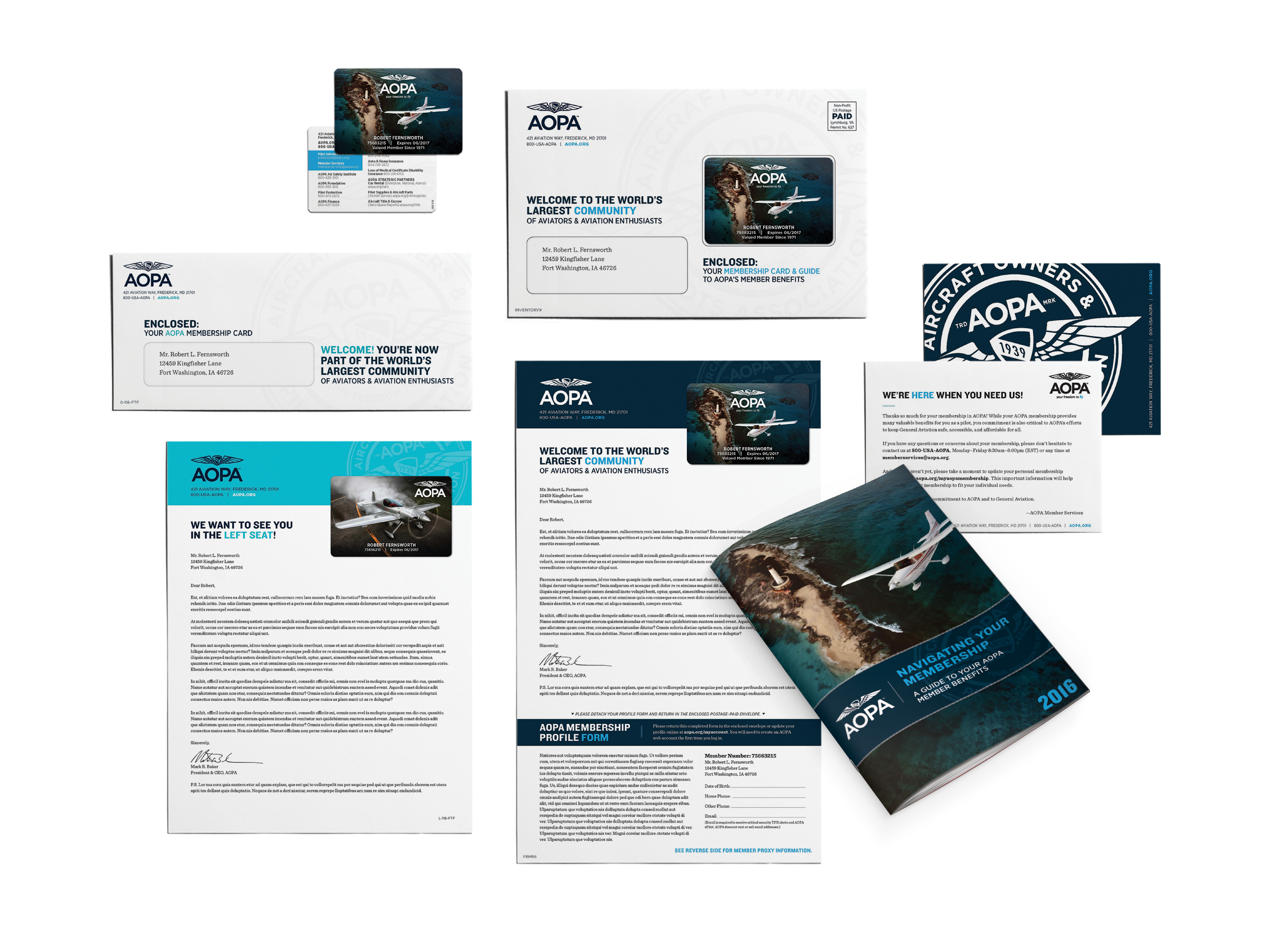 Membership Credentials Package