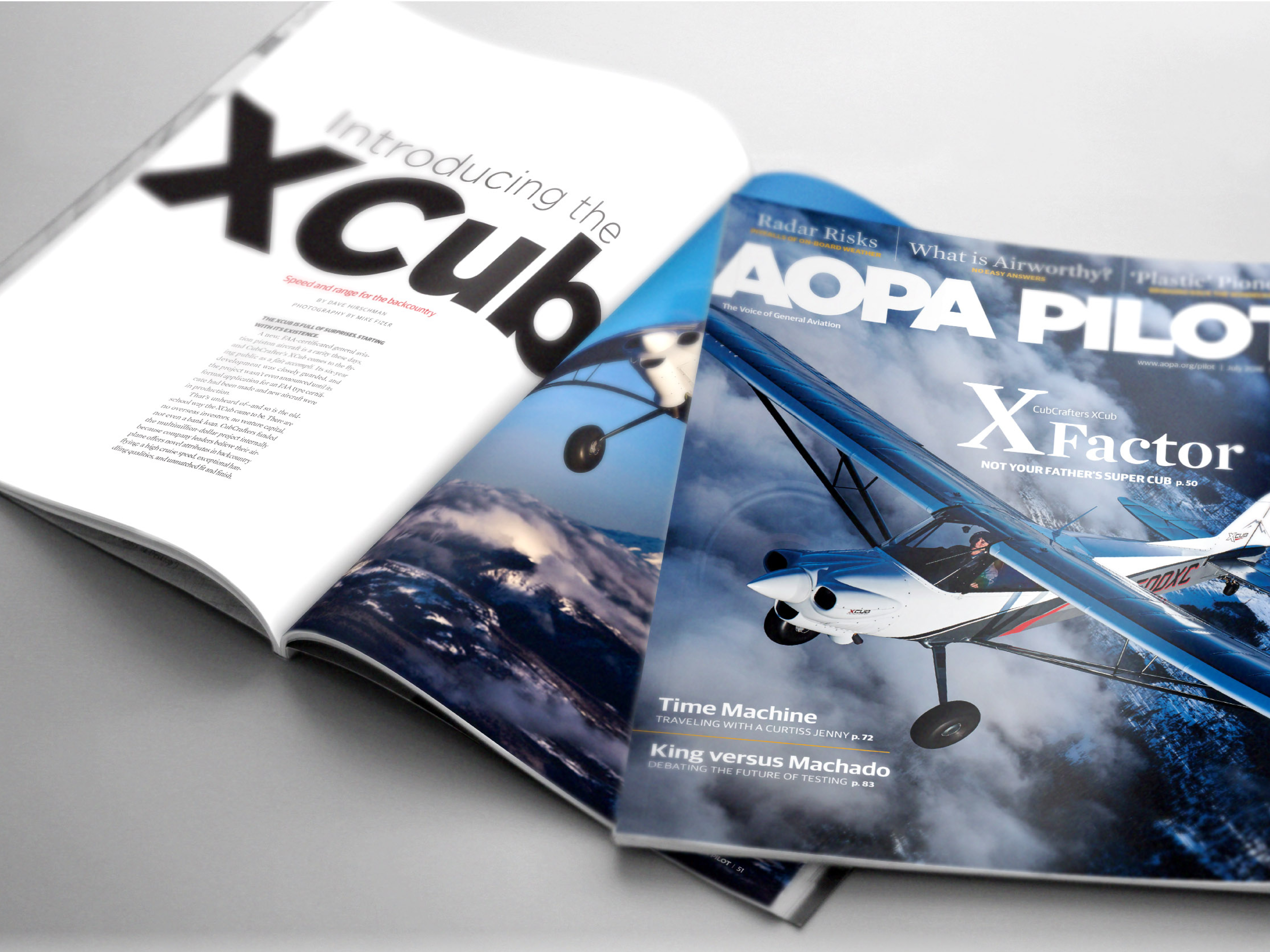AOPA Pilot Editorial Design