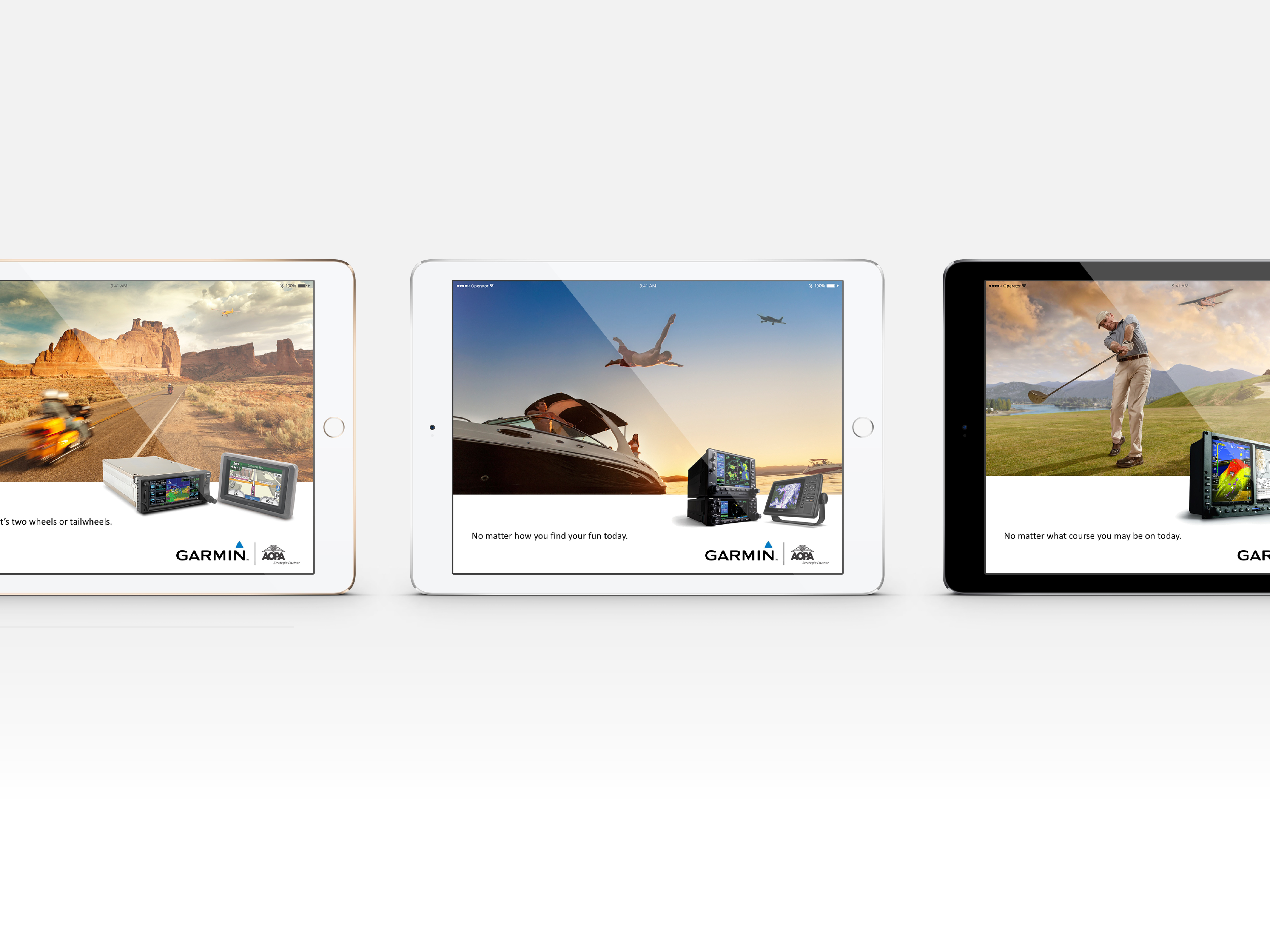 Garmin Digital Ad Campaign