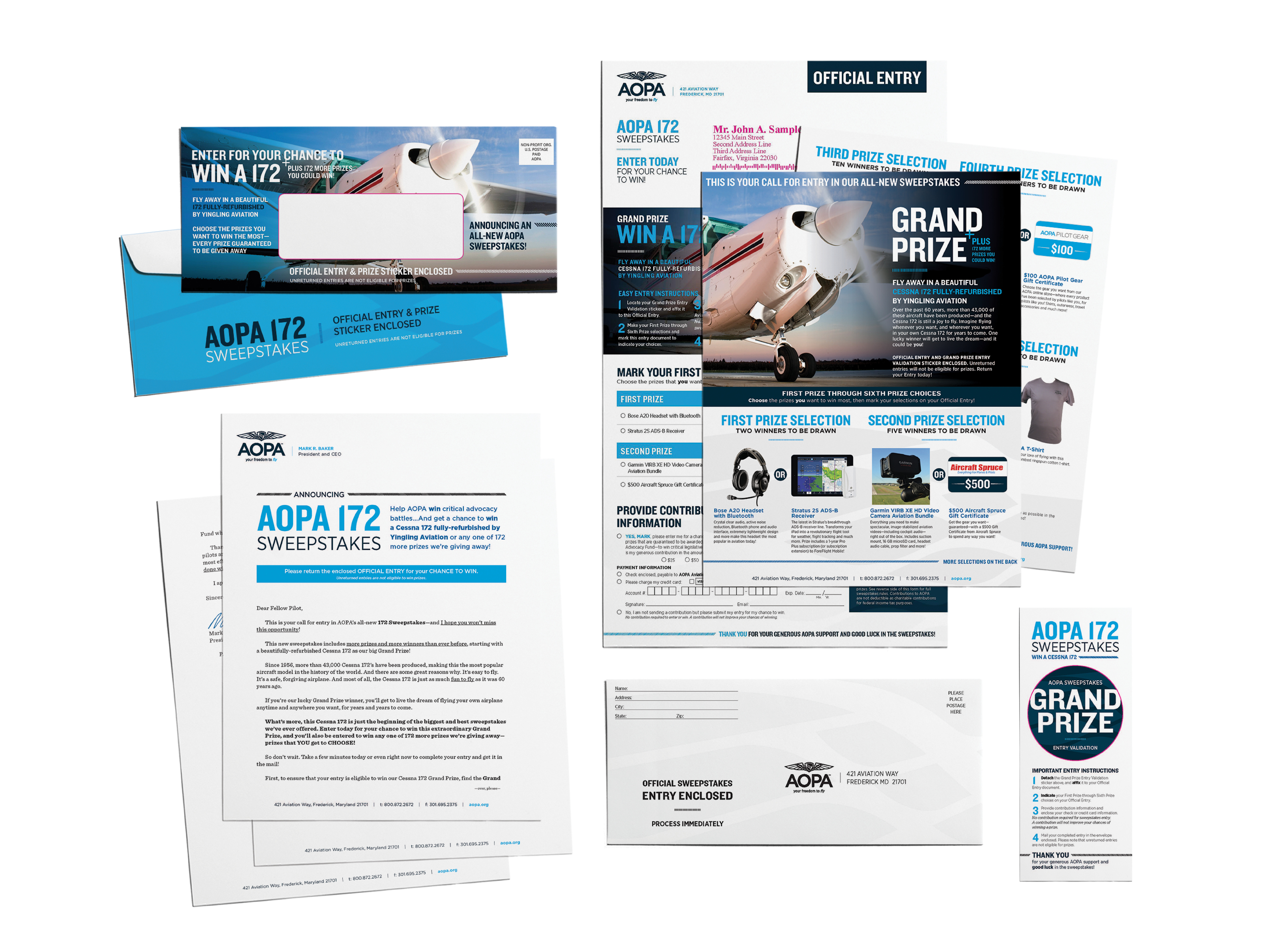 Sweepstakes Direct Mail Campaign