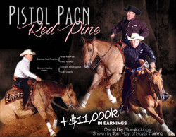 Mare: Pistol Pacn Red Pine