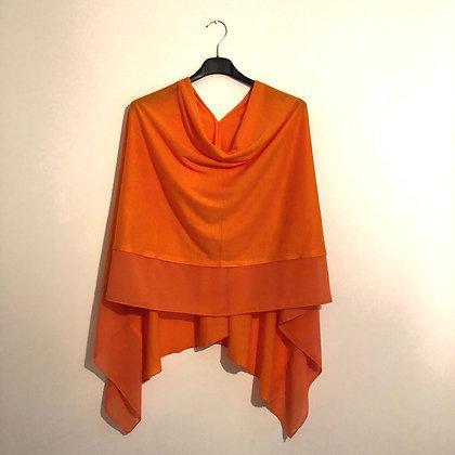 Orange Lightweight Poncho