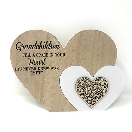 Large Grandchildren Heart Block