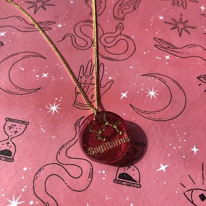 Sagittarius Astrology Necklace