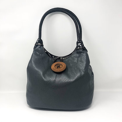 Button Bag Grey