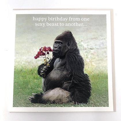 Sexy Beast Greeting Card