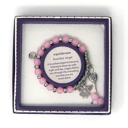 Light Pink Guardian Angel Bracelet