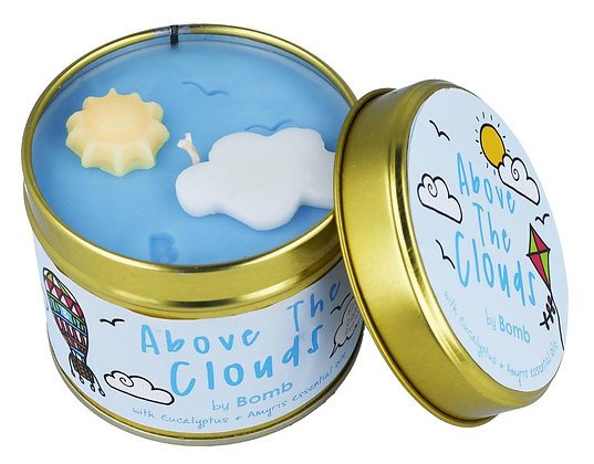 Bomb Cosmetics - Above The Clouds Tinned Candle