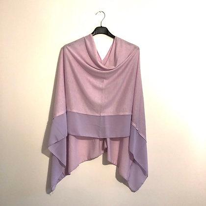 Lilac Lightweight Poncho