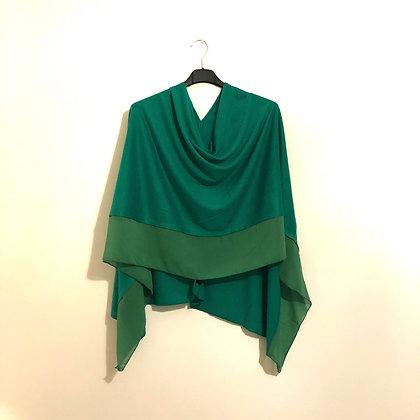 Green Lightweight Poncho
