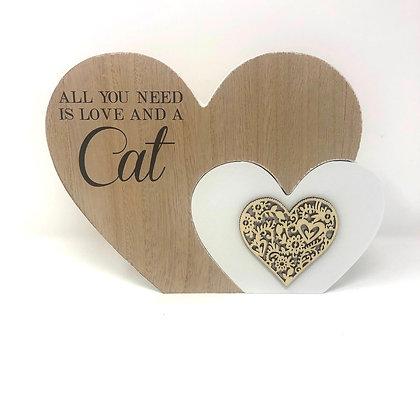 Large Cat Heart Block