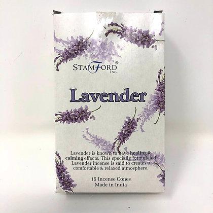 Stamford Lavender Incense Cones