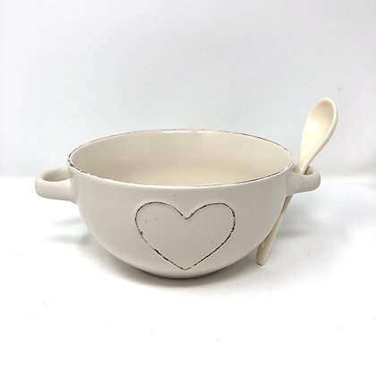 Heart Bowl With Handles