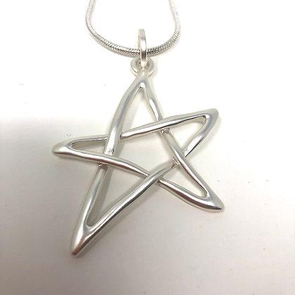 Short Pentagram Necklace