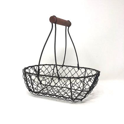 Medium Wire Oval Basket