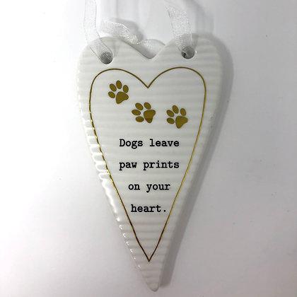 Thoughtful Words - Dog Hanging Decoration
