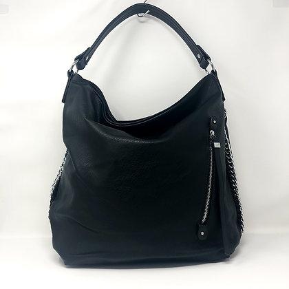 Black Hobo Shoulder Bag