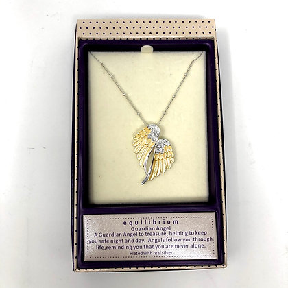 Angel Wings Equilibrium Necklace