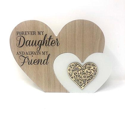 Large Daughter Heart Block