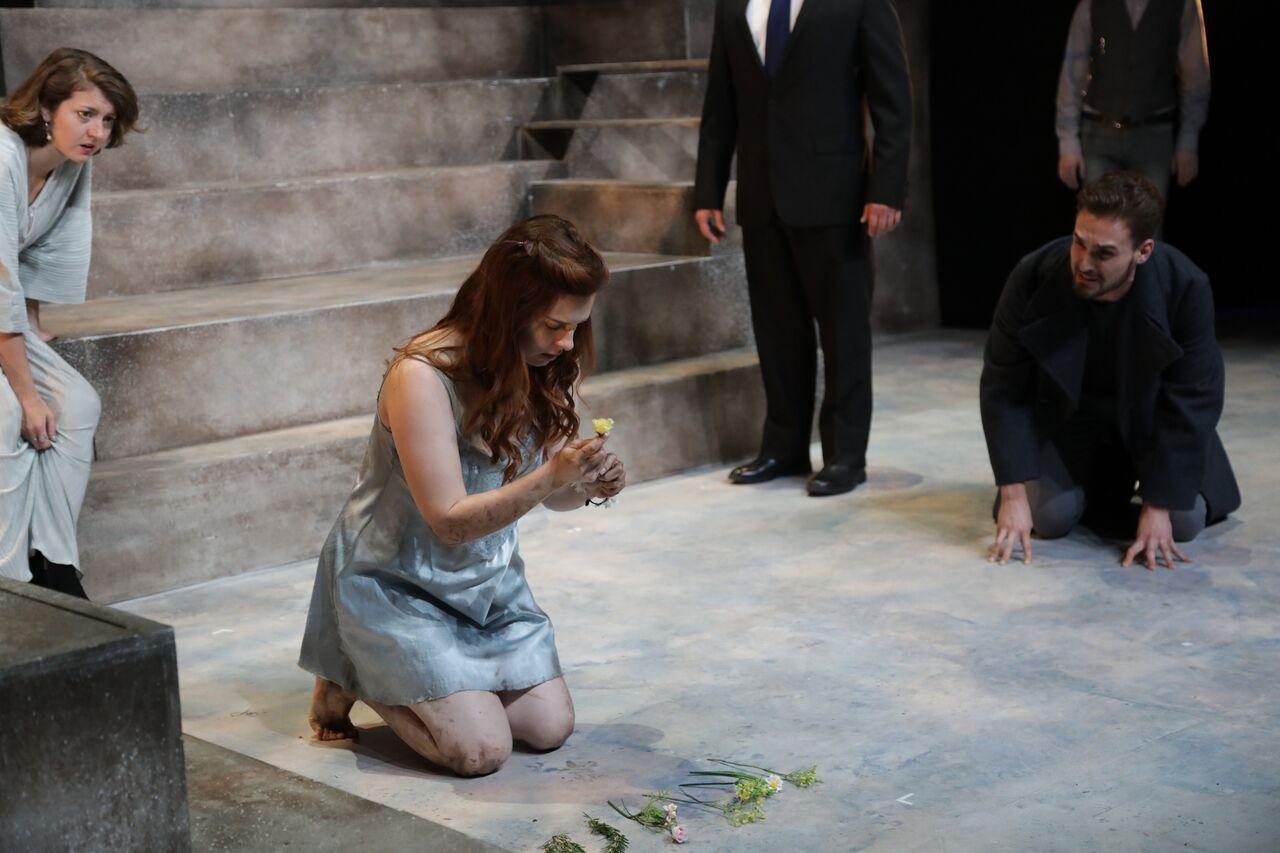 "Laertes in ""Hamlet"" at LAMDA4"