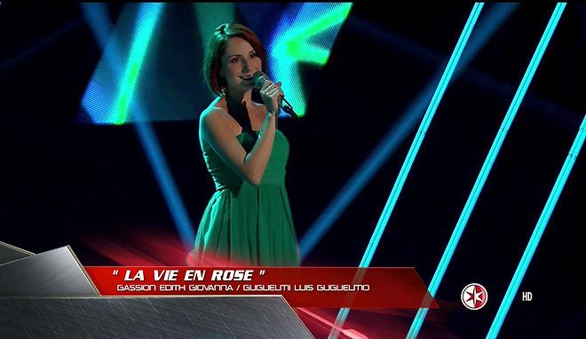 La Vie en Rose on The Voice Mexico