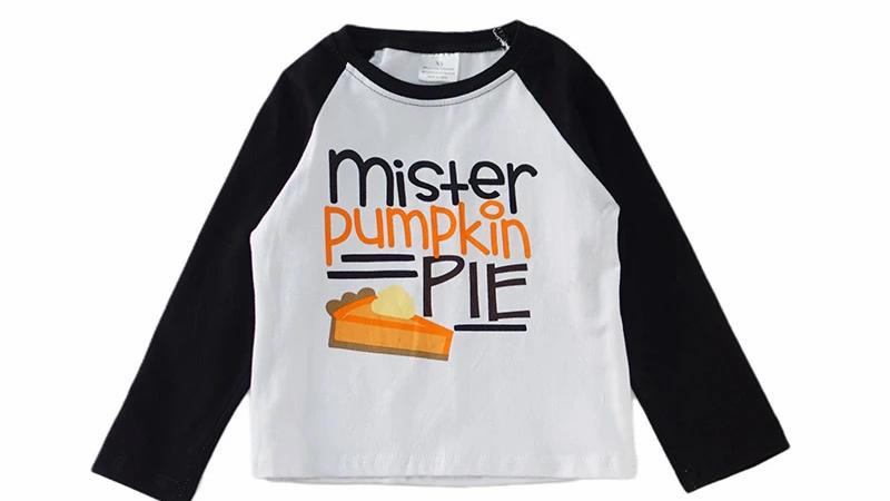 Mister pumpkin pie boy shirt