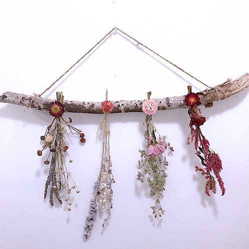 Large Birch Wall Hanging