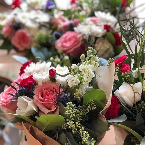 Valentines Day Mixed Floral Bouquet