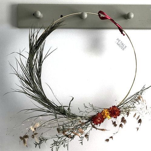 Large Hoop Wreath