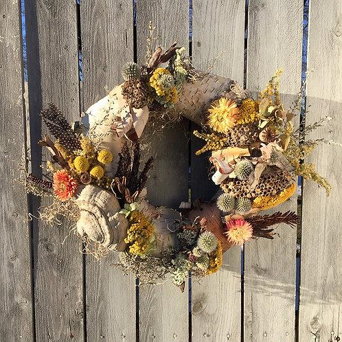 Foraged Floral Wreath