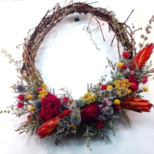 Large Grapevine Wreath