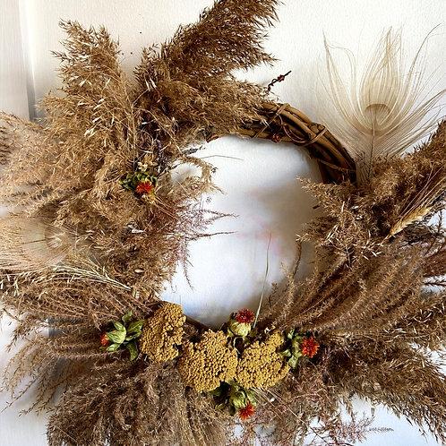 Pampus Grass Wreath