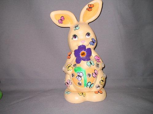 Rabbit with Butterflies