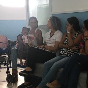 Projeto aBRAÇO nas Escolas visitou a Creche e Pré-Escola Primeiro Passo, em Itapuã