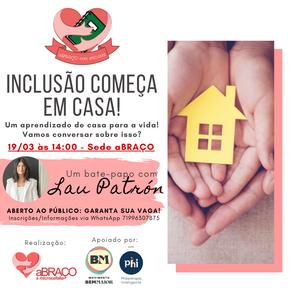 ONG aBRAÇO a Microcefalia promove atividades gratuitas para debater inclusão em Salvador