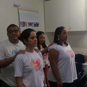 Projeto Arranjos Colaborativos em parceria com a Associação AHIMSA em São Paulo