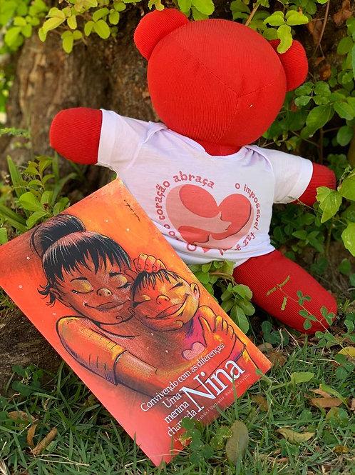 """Livro """"Convivendo com as diferenças: uma menina chamada Nina"""""""