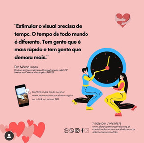 Como estimular as atividades visuais do seu filho em casa? aBRAÇO Convida dessa semana (30/07)