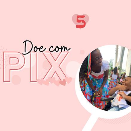 Doe com PIX