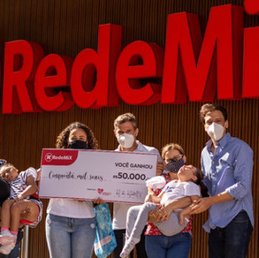 RedeMix doa R$ 120 mil para instituições de apoio a crianças com microcefalia e câncer