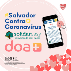 aBRAÇO é uma das instituições do #SalvadorContraOConoravírus