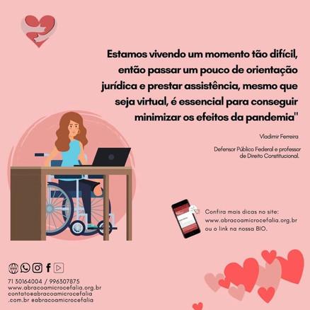 aBRAÇO Convida dessa quinta-feira (27) responde dúvidas sobre BPC e auxilio emergencial