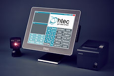 HTEC Europa EPOS with scanner and printer