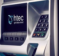 HTEC Outdoor Payment Terminal close up