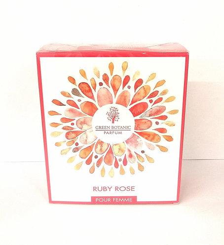 RUBY ROSE PERFUME GREEN BOTANIC