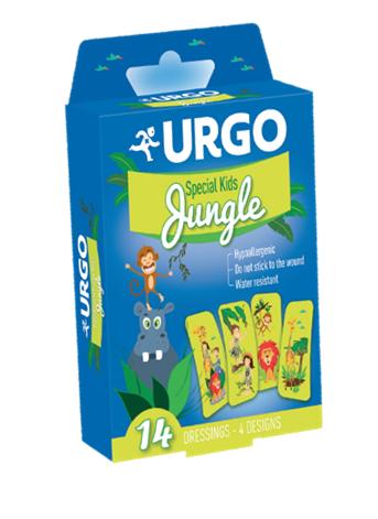 URGO TIRITAS KIDS JUNGLE 14U