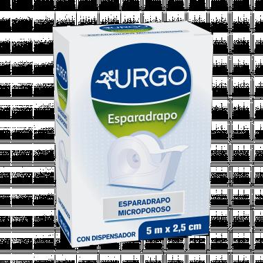 ESPARADRAPO HIPOALERGICO URGO MICROPOROSO 5 M X