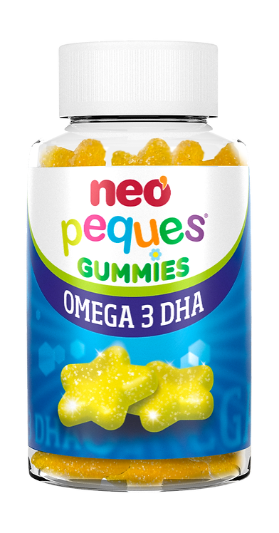 NEOPEQUES GUMMIES OMEGA 3 DHA 30